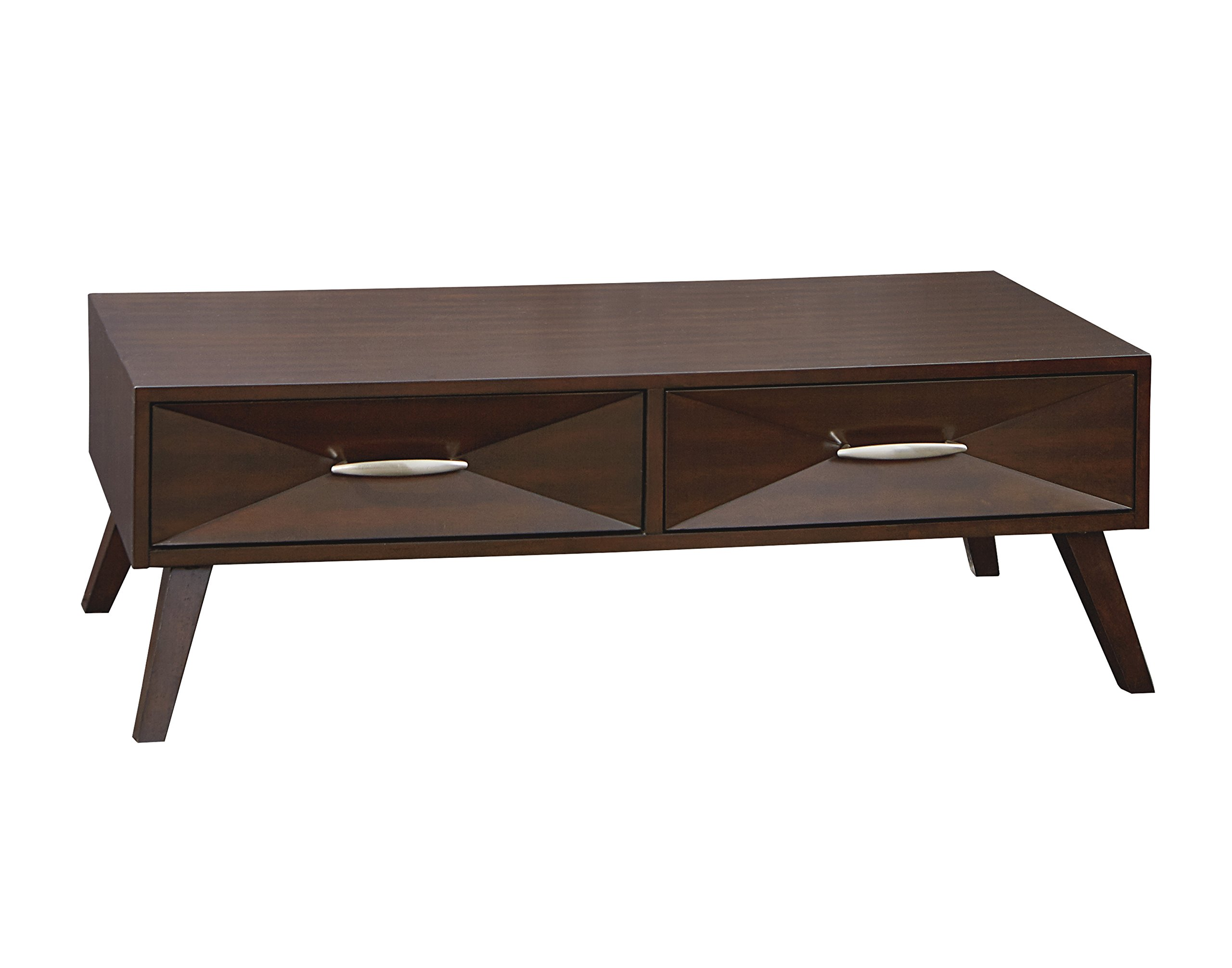 Standard Furniture 20061 Forsythe Coffee Table, 48'' W x 26'' D x 16'' H, Brown by Standard Furniture
