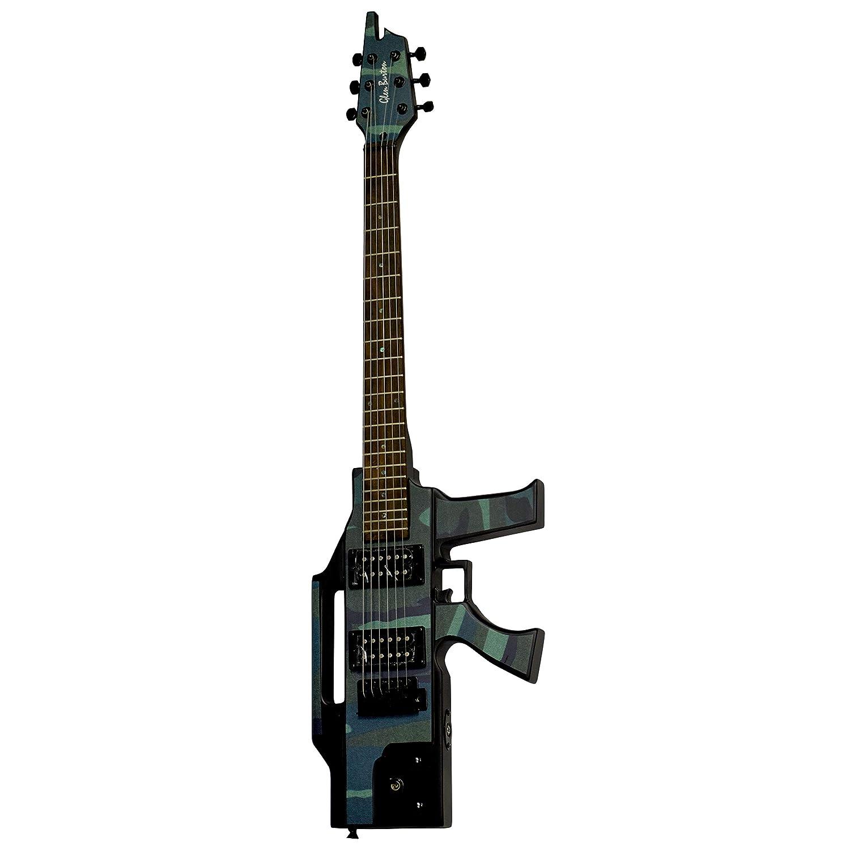 Camo Glen Burton GE47 Solid Body Electric Guitar
