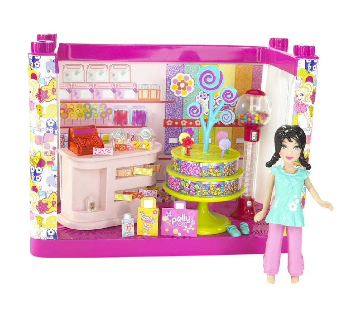 Polly Pocket Designables Mix 'n' Match Candy Shop Crissy Doll