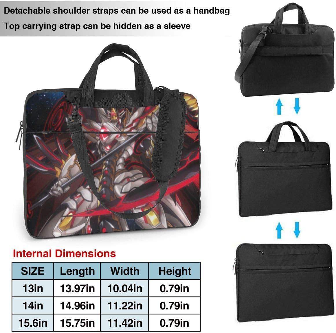 Anime Overlord Laptop Shoulder Bag Tote Bag Tablet Bag Lightweight Fashion