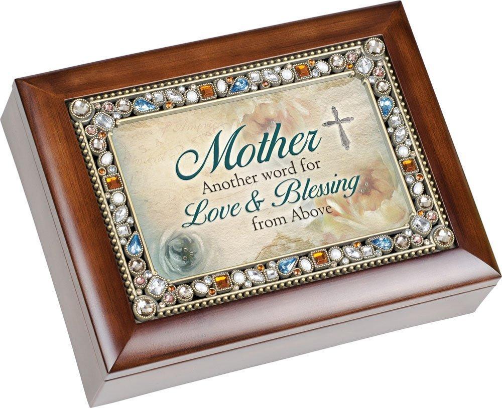 お気にいる [コテージ ガーデン]Cottage Garden Mother B00M4FRKN4 Another Word Music for Love Dark & Beauty Mom Jewel Musical Music Jewelry Box with Dark Wood Finish Plays [並行輸入品] B00M4FRKN4, サンコー ホビー:bfdfc157 --- arcego.dominiotemporario.com