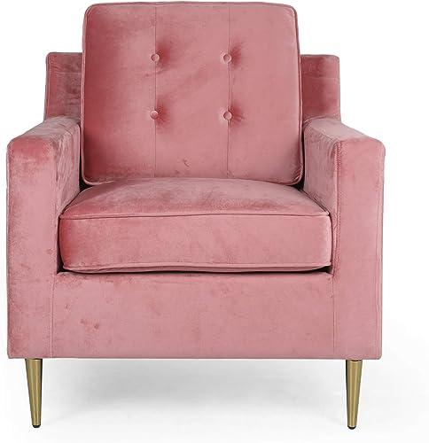 Editors' Choice: Christopher Knight Home Warren Modern Glam Tufted Velvet Club Chair
