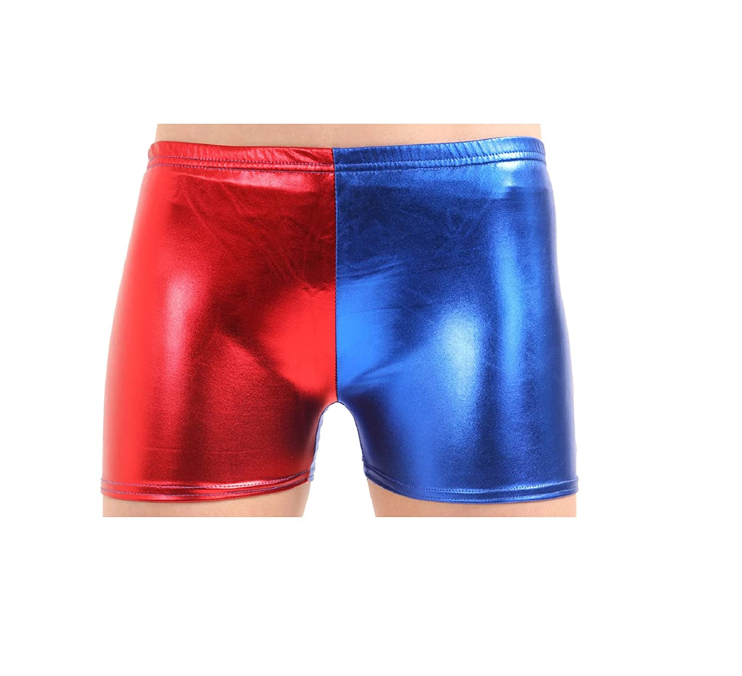 Misfit Booty Shorts Harley Quinn Fancy Dress Halloween Adult Costume Accessory