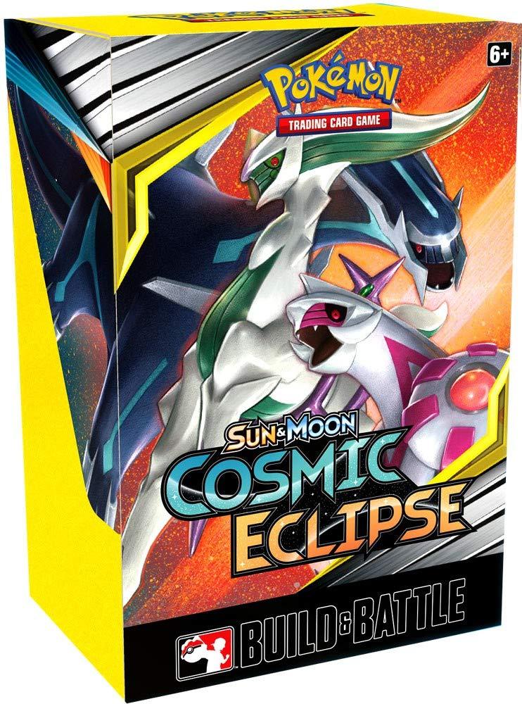 Pokèmon TCG Juego de Cartas Sun and Moon Cosmic Eclipse Build and ...
