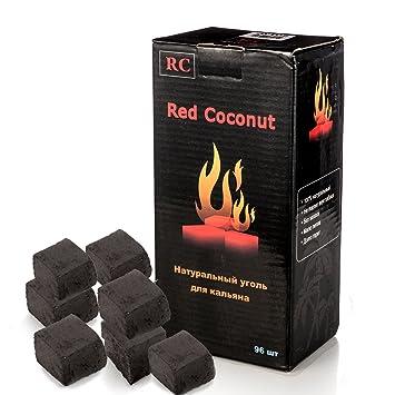 DXP 96 Dados Shisha carbón rápida lzün dend cuencos de coco para cachimba y BBQ
