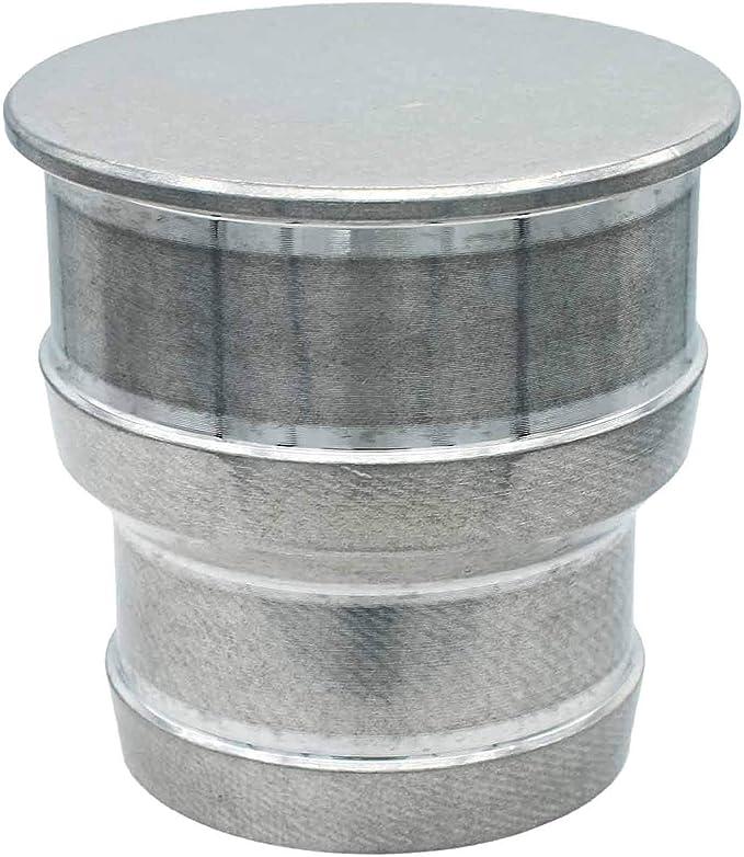 ICT Billet Straight 1.5 or 1.25 Single Barb Radiator Hose Plug Bare Aluminum Cooling Engine Removal Spill Free Designed /& Manufactured in USA Bare Aluminum F150-125BAPL