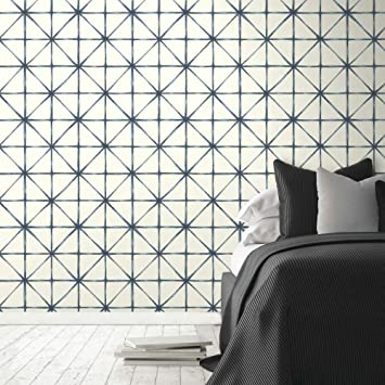 Amazon Com Roommates Modern Abstract Peel And Stick Wallpaper Home Improvement