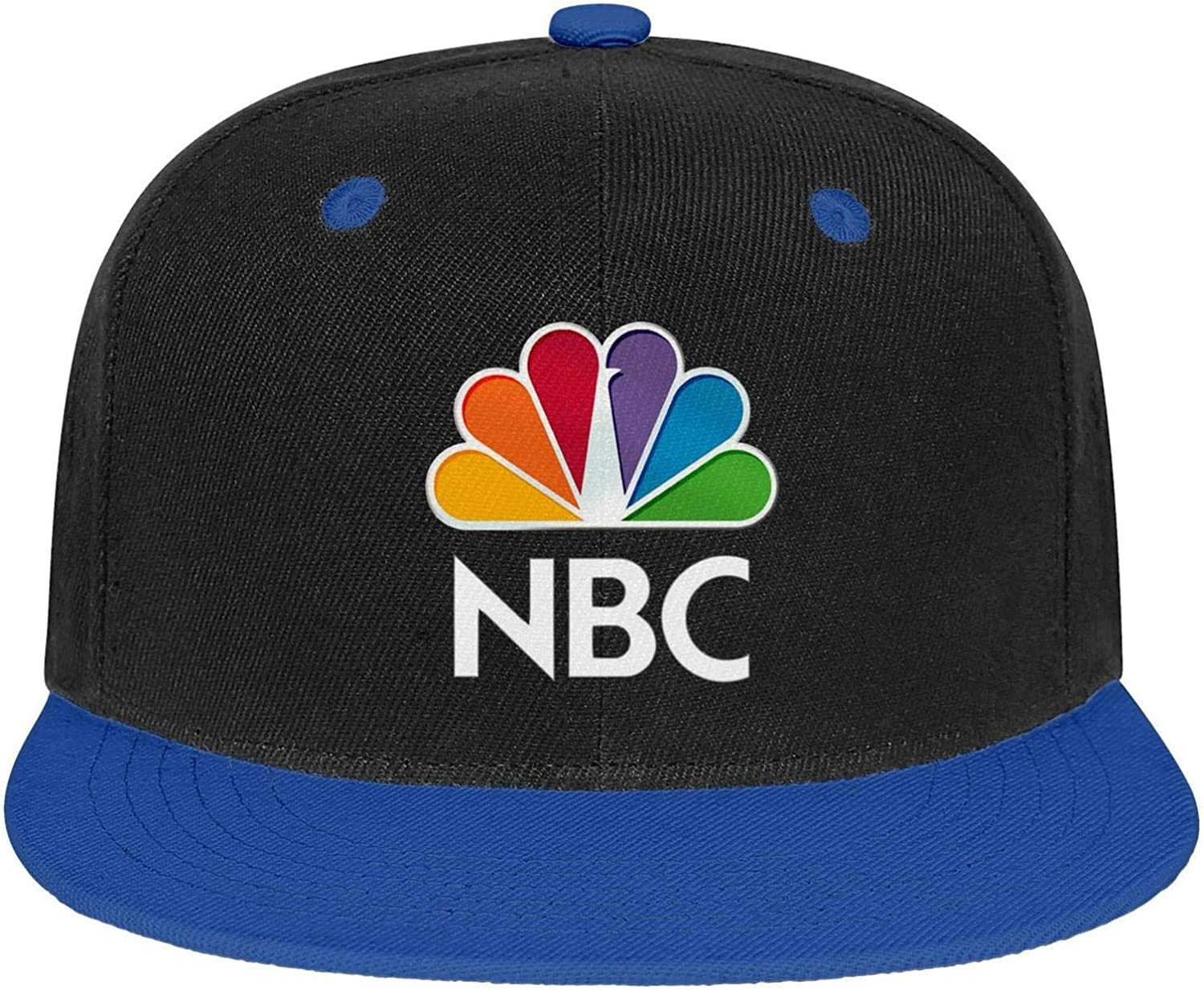 HTLYT Mag-NBC-Logo Mens Trucker Cap one Size Low Profile Dad Distressed Snapback hat