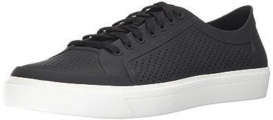 1e3534b70836d5 Crocs Men s Citilane Roka Court Fashion Sneaker Black White 4 ...