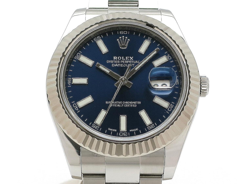 (ロレックス) ROLEX 腕時計 デイトジャスト2 メンズ時計 メーカー保証期間中 K18WG/SS 116334() 中古 B07FFTZ9XD