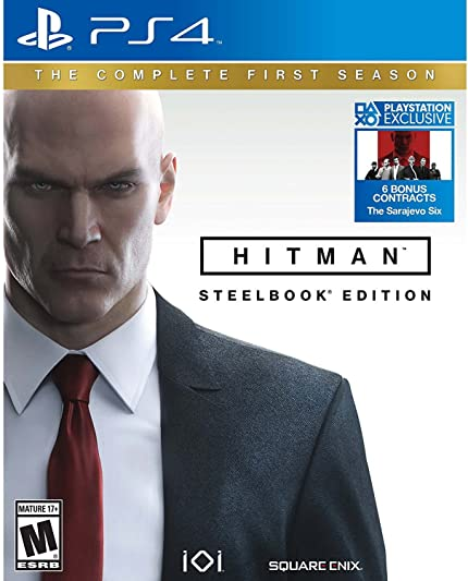 Hitman The Complete First Season Playstation 4