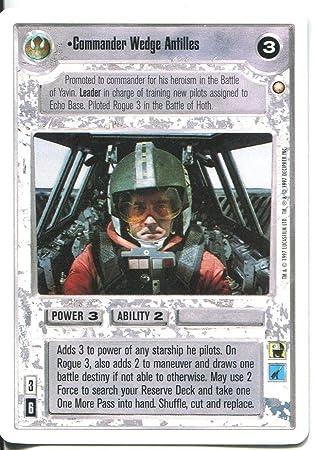 Star Wars CCG Hoth White Border Rogue 2