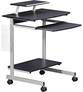 coaster contemporary computer workstation office desk table. Mobile \u0026 Compact Complete Computer Workstation Desk. Color: Graphite Coaster Contemporary Office Desk Table E
