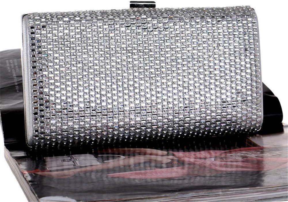 Amyannie Women Clutch Bag Classic Pleated Envelope Clutch Shoulder Bag Evening Handbag Purse Color : C
