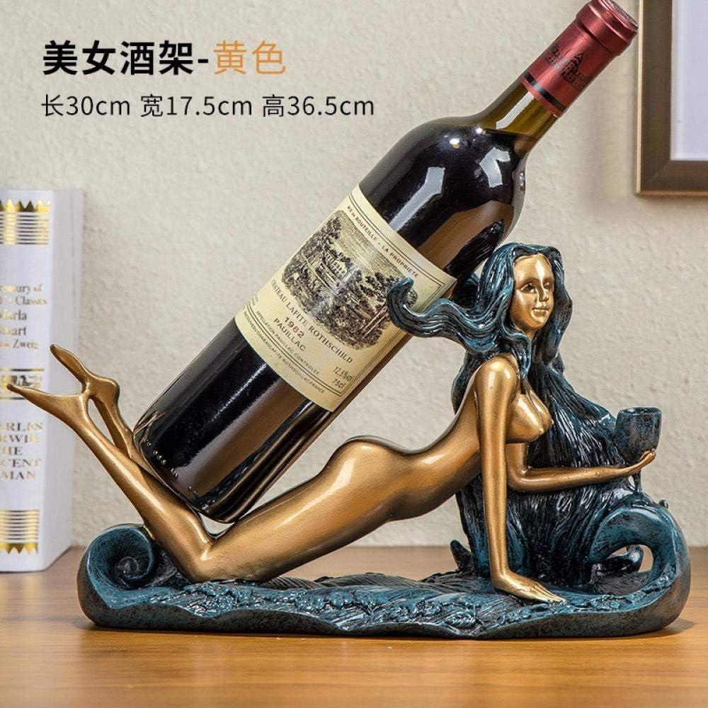 Produit vintage et original Porte-bouteille de vin mod/èle unique en m/étal