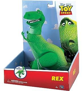 Disney Toy Story 3 Collection Talking REX Dinosaur 11 Phrases 12 ... 007aa9e4ec5