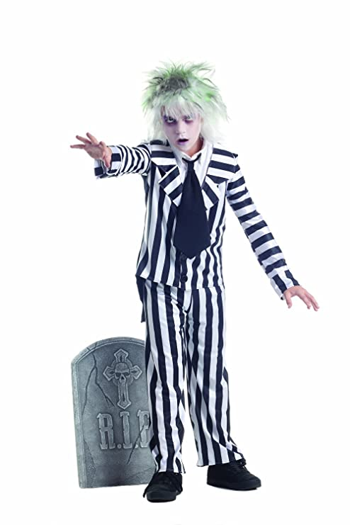 Party King Graveyard Ghost Child Costume, 12-14