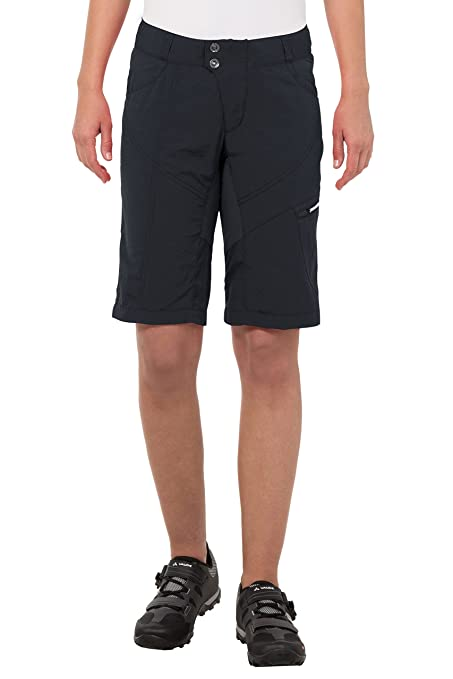 Amazon Com Vaude Women S Tamaro Shorts Stretchy Mountain Bike