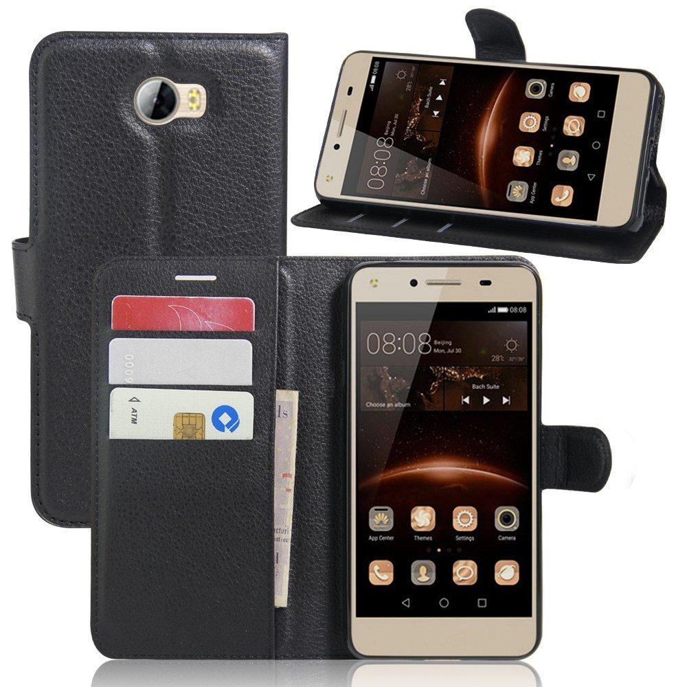Ycloud Funda Libro para Huawei Y5 II, Suave PU Leather