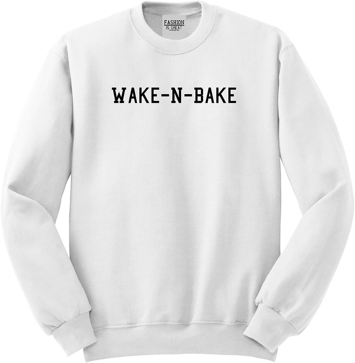 FASHIONISGREAT Wake N Bake Unisex Crewneck Sweatshirt