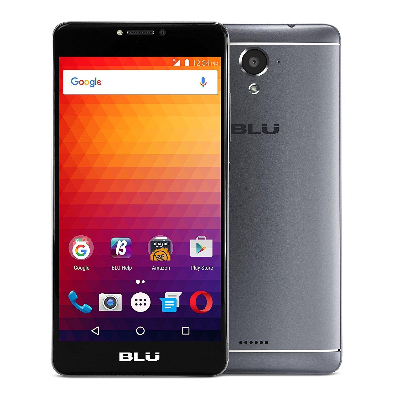 BLU R1 Plus 16GB Unlocked GSM LTE Quad-Core Phone w/13MP Camera - Black (Certified Refurbished)