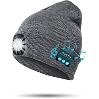 PIGGY PIGGY'S Upgraded LED Beanie Hat with USB Rechargeable for Men and Women, Adjustable Brightness Headlamp Winter…