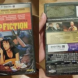 Amazon Com Pulp Fiction Miramax Films Ntsc Region 1 4 Dvd By Quentin Tarantino Audio English Spanish Subtitles Spanish Movies Tv