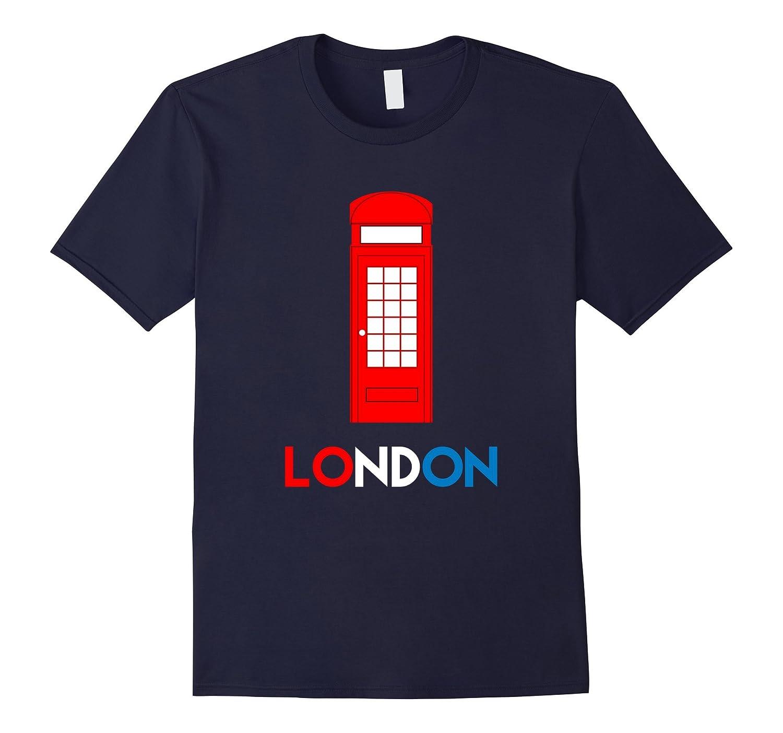 London Phone Booth Souvenir T-shirt 1-Vaci