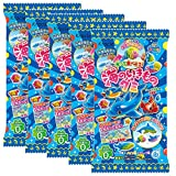 Creatures Of The Sea Gu-mmy Set Japaneese DIY Candy 5pcs Kracie Children Snack Food Ninjapo