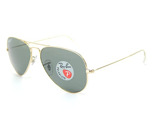930d517f04 Image Unavailable. Image not available for. Color  Ray Ban Aviator RB3025  001 58 Arista G-15 XLT Polarized Mirror 62mm