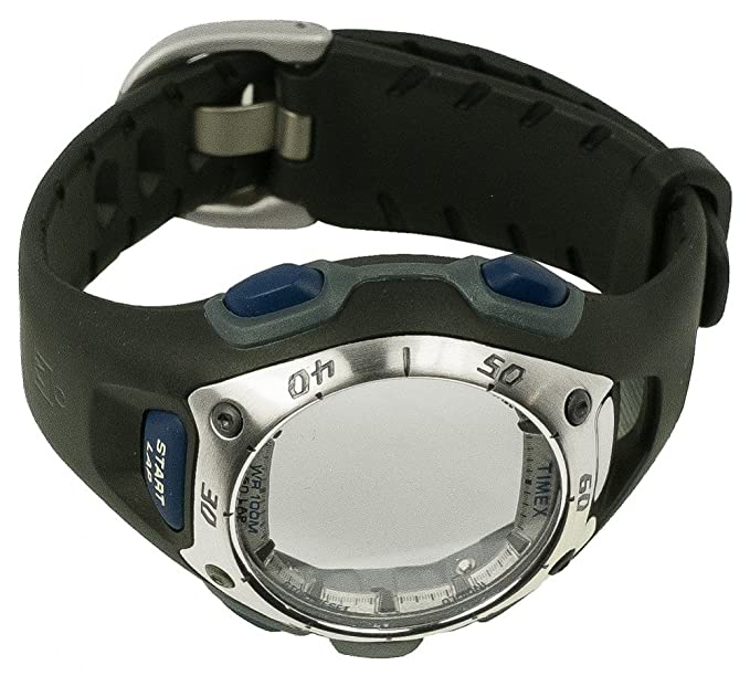 Timex Ironman Reloj de pulsera para banda plástico banda oscuro incluye chasis T5E371