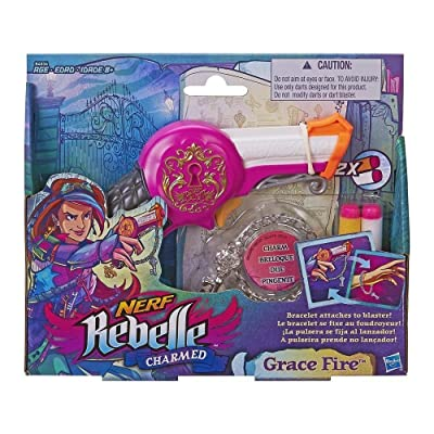 NERF Rebelle Charmed Grace Fire: Toys & Games