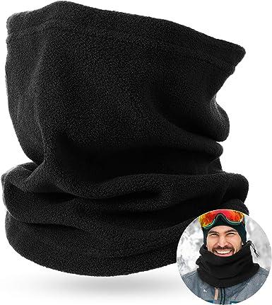 Cold Weather Polar Fleece Neck Warmer Gaiter Windproof Ski Motorcycle Face Scarf