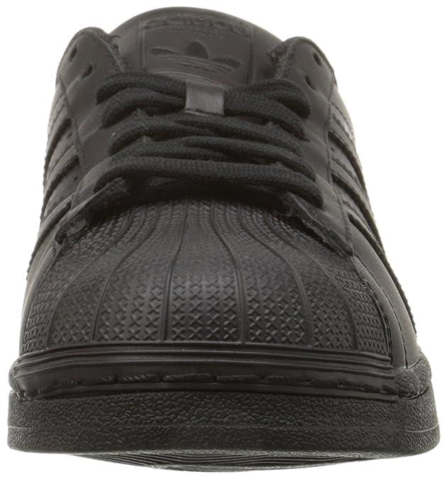 adidas Originals Unisex-Erwachsene Superstar Niedrig Schwarz (Core Black/Core Black/Core Black) 46 2/3 EU