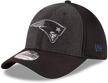 2d97c8cfa0e81b New Era New England Patriots NFL 39THIRTY Heathered Black Neo Flex Fit Hat