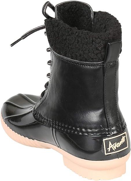 Avanti Womens Jango Lined Duck Style Rain Boots