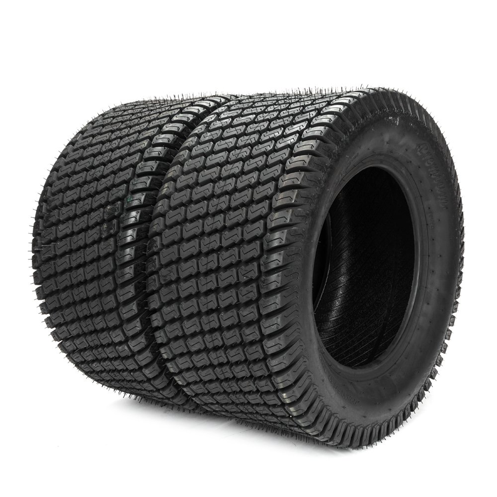 Motorhot 23X10.50-12 Lawn & Garden Tire Lawnmower/Golf Cart Turf Tires 4 Ply 23x10.50x12 Set of 2