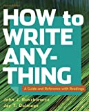 How to Write Anything with Readings: A Guide and Reference
