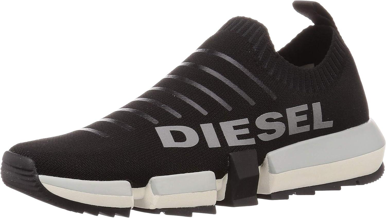 Diesel Men's H-padola Low Sock-Sneakers