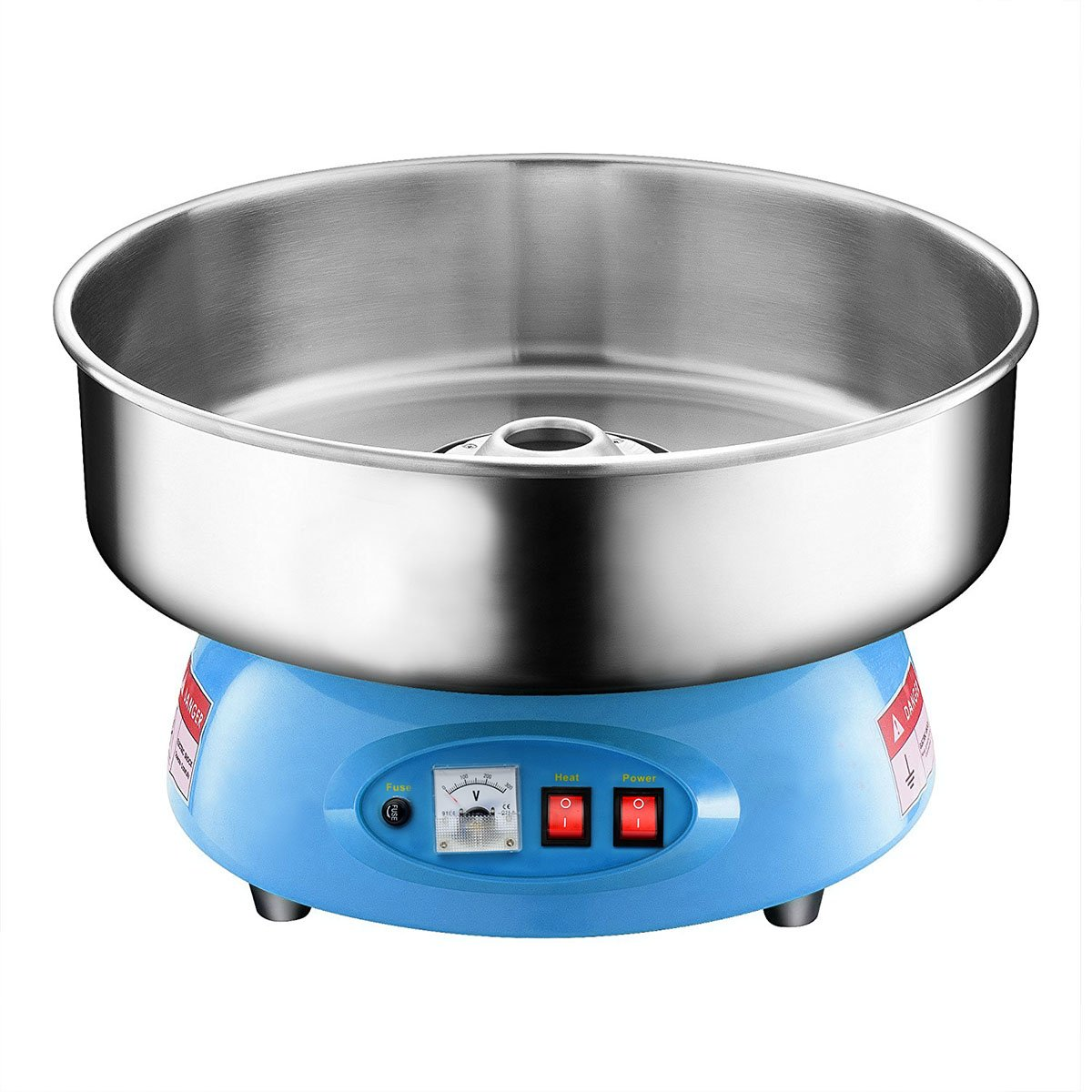 Clevr Compact Commercial Cotton Candy Machine Party Candy Floss Maker Blue by Clevr (Image #1)