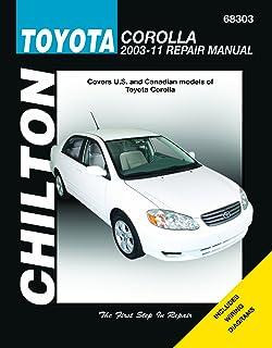 Toyota corolla 2003 thru 2011 haynes repair manual john haynes chilton total car care toyota corolla 2003 2011 repair manual fandeluxe Image collections