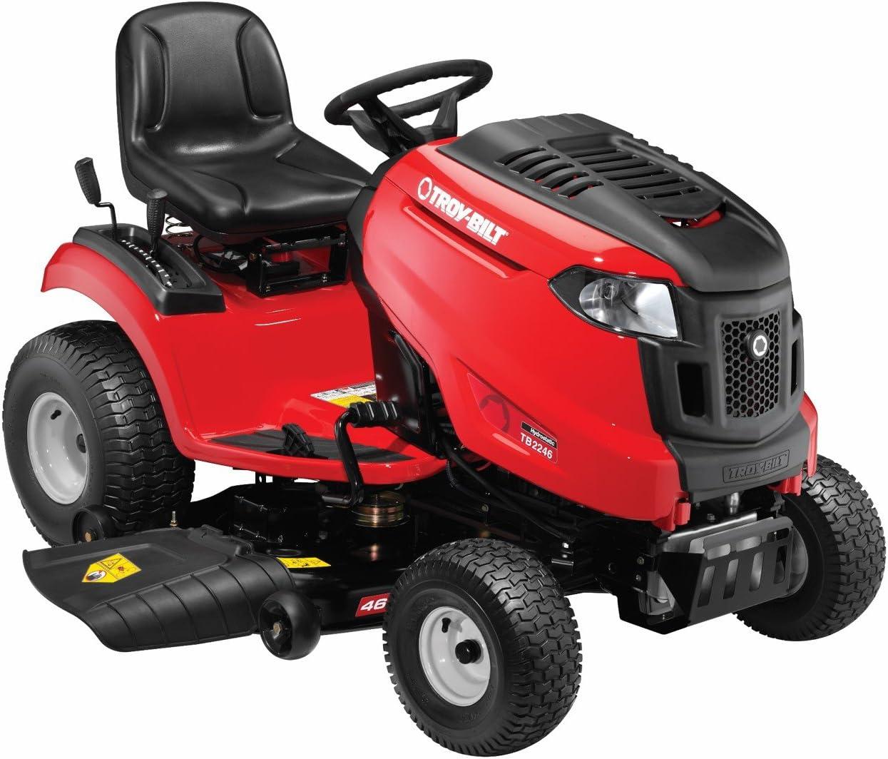 Riding Lawn Mowers & Tractors Troy-Bilt TB2246 22HP/656cc Twin ...