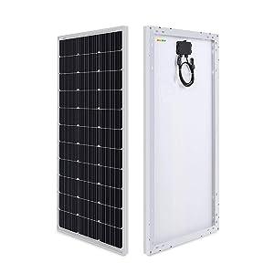 Sonali Solar Sleek Module 100 Watts (100 W X 1 Pcs) 12 Volts Monocrystalline Solar Panel