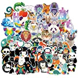 Yubbaex Cute Animals Stickers 135 Pcs Laptop VSCO Stickers Pack Cool Vinyl Waterproof Sticker for Pad MacBook Car Snowboard B