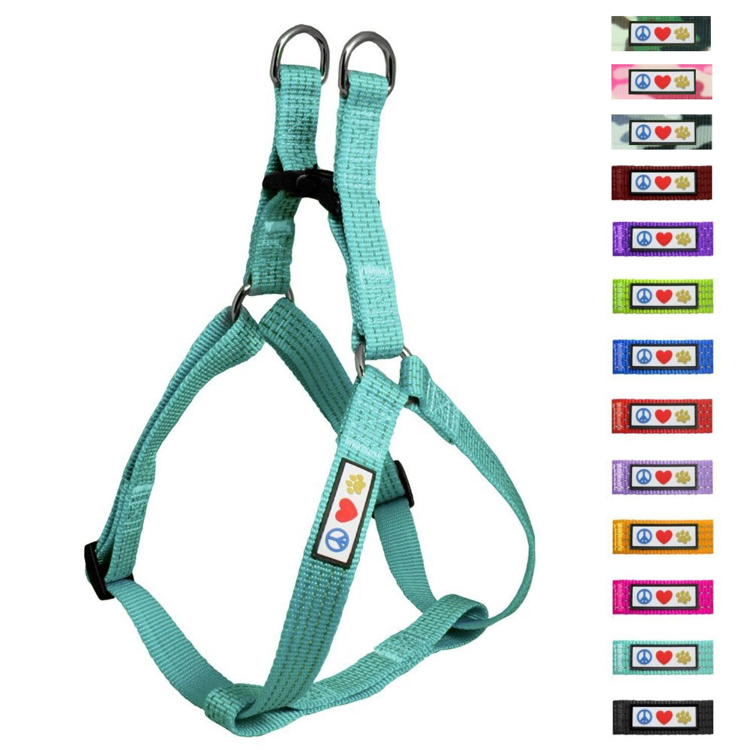 Pawtitas Pet Soft Adjustable Step In Reflective Puppy / Dog Harness by Pawtitas