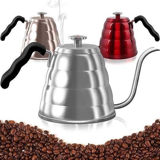 Amazon.com: Lightning Deal - Hervidor de café con termómetro ...