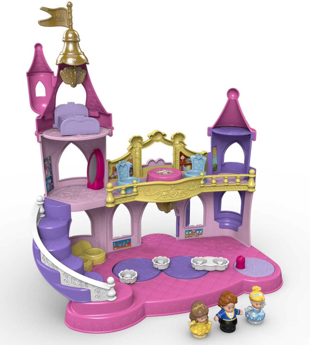 Fisher-Price Little People Disney Princess, Musical Dancing Palace by Fisher-Price (Image #3)