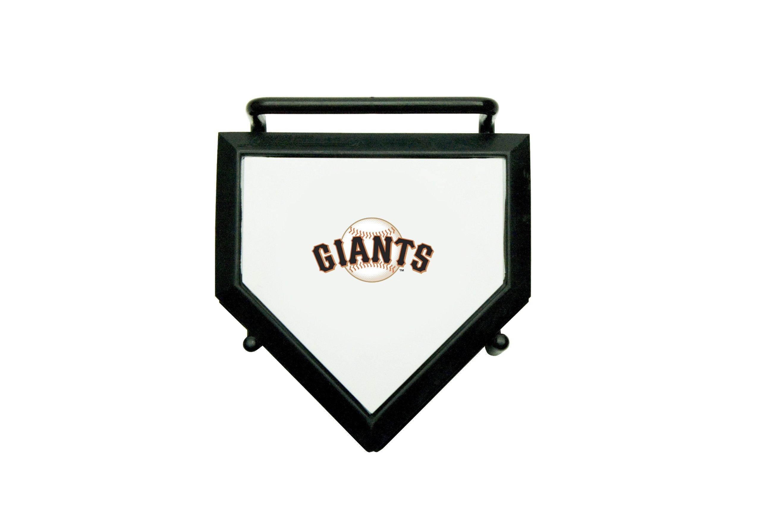 MLB San Francisco Giants Home Plate 4-pack Coaster