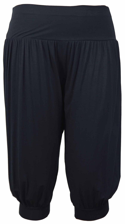 5edd694ccf87e7 Purple Hanger - Damen Ali Baba Harems Hose Stretch Weite Hosen Kurz Shorts  Übergrößen Purple Hanger