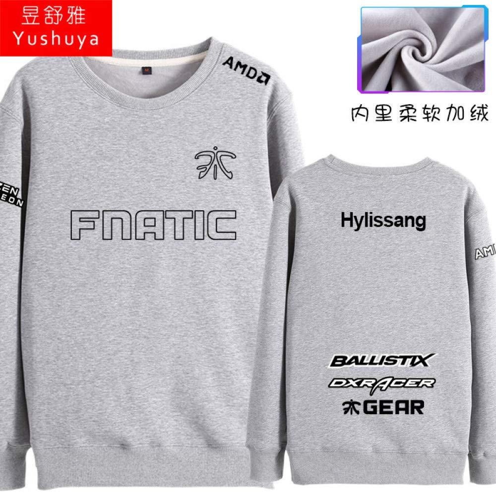IGNBSSGJ Pullover Sweatshirts Fnc Team Uniform S8 Finale Rundhals Pullover Warme Weiche Männer Und Frauen Spiel Kleidung